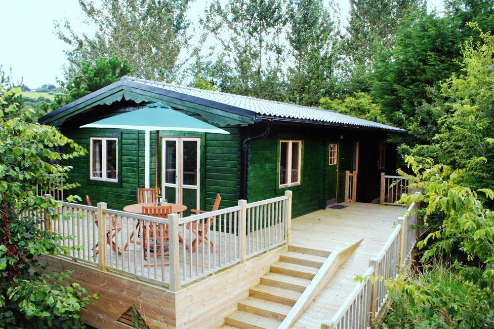 Superb Swedish Cabin in the Carmarthenshire Countryside  Sleeps: 5  Property Ref: 2021