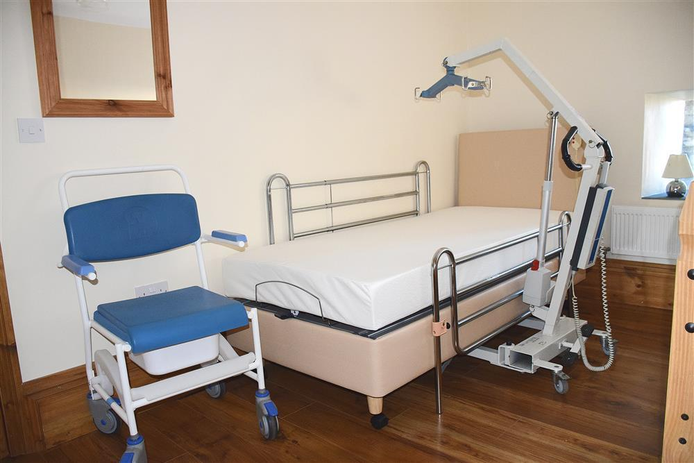 Photograph of 02-Hospital Bed with Hoist-883