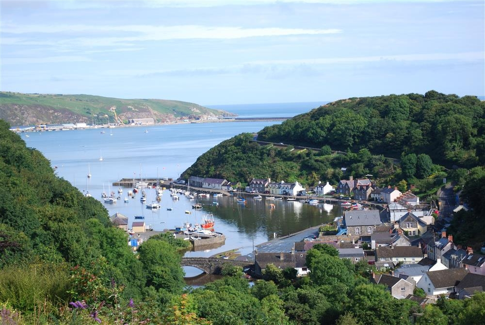 Studio - harbour and sea views - Fishguard - Sleeps 2 - Ref 2052