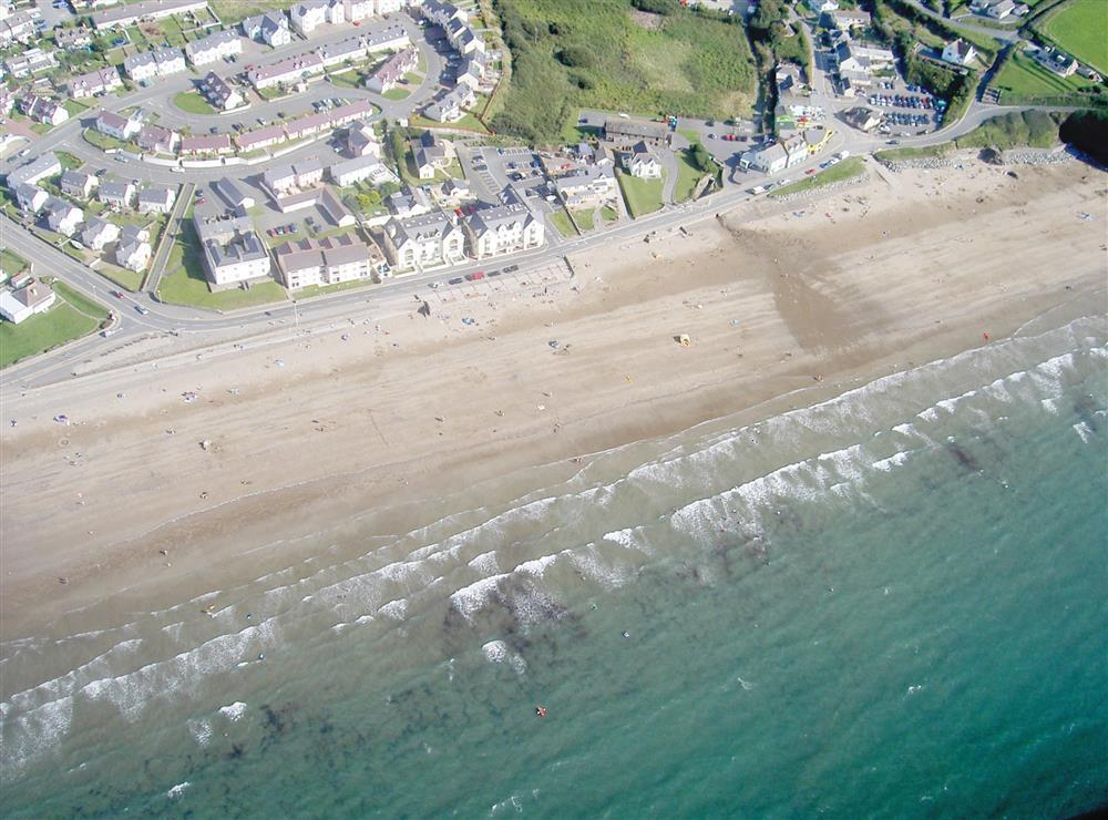 08 Aerial View of Broad Haven 560