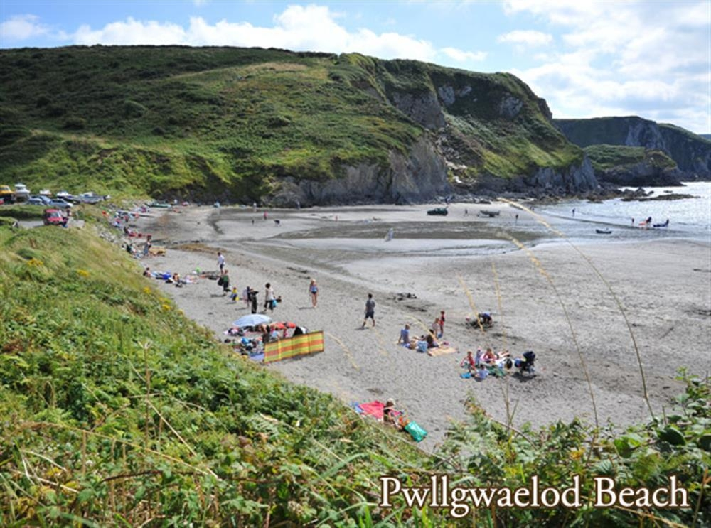 Photograph of 2140-extra-pwllgwaelod beach