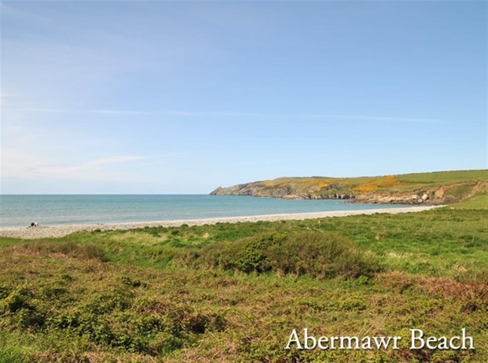 Photograph of abermawr-beach