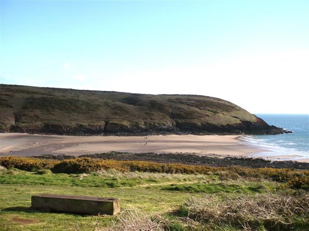 Photograph of 2084-extra Manorbier Beach