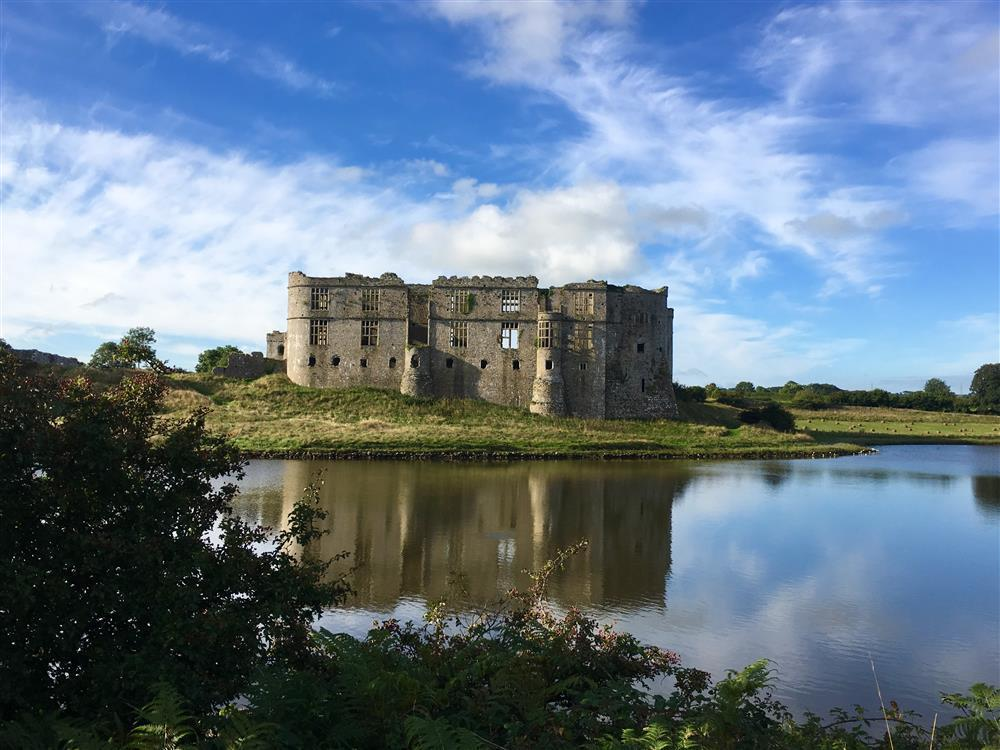 01 Carew Castle near Cosheston 497