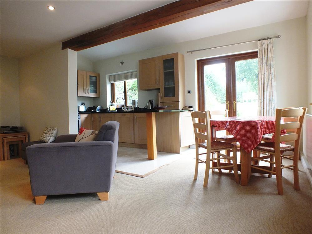 Photograph of 01 open plan Brynawelon Newport (3)