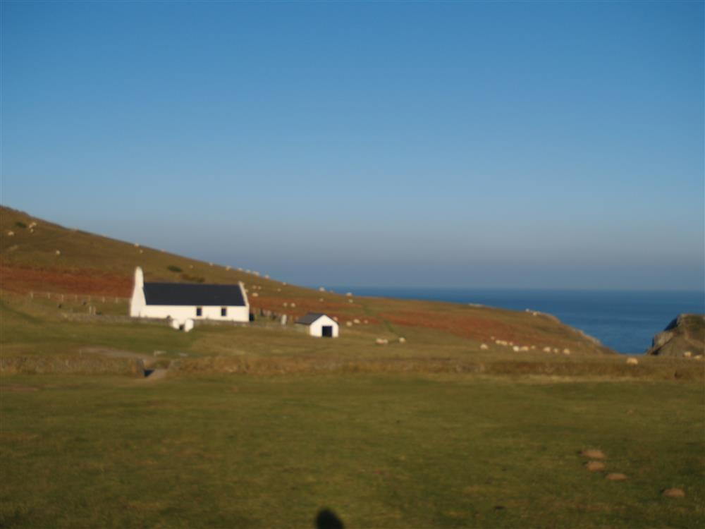 Photograph of 01-Laethdy near Mwnt Church-903